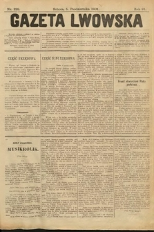 Gazeta Lwowska. 1901, nr229
