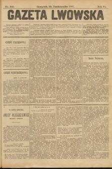 Gazeta Lwowska. 1901, nr245
