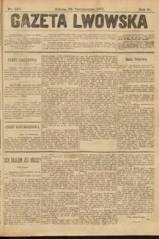 Gazeta Lwowska. 1901, nr247