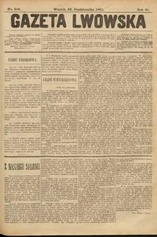 Gazeta Lwowska. 1901, nr249