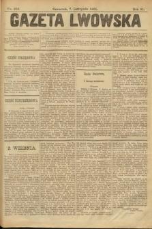 Gazeta Lwowska. 1901, nr256