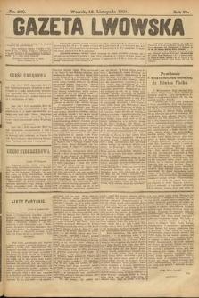 Gazeta Lwowska. 1901, nr260