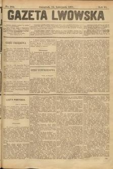 Gazeta Lwowska. 1901, nr262