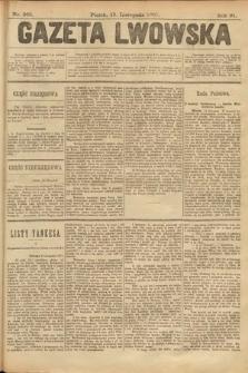 Gazeta Lwowska. 1901, nr263