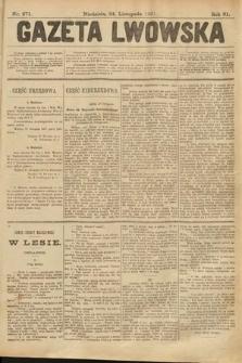 Gazeta Lwowska. 1901, nr271