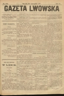 Gazeta Lwowska. 1901, nr272