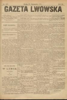 Gazeta Lwowska. 1901, nr273
