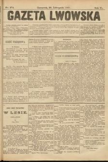 Gazeta Lwowska. 1901, nr274