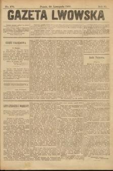 Gazeta Lwowska. 1901, nr275