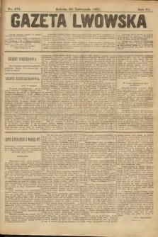Gazeta Lwowska. 1901, nr276