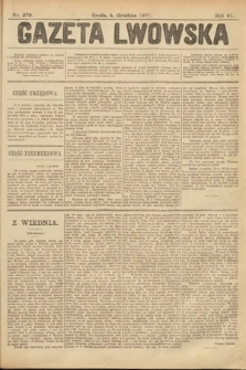 Gazeta Lwowska. 1901, nr279