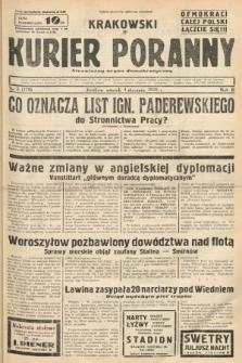 Krakowski Kurier Poranny : niezależny organ demokratyczny. 1938, nr3 (178)