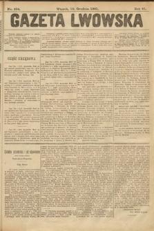 Gazeta Lwowska. 1901, nr284