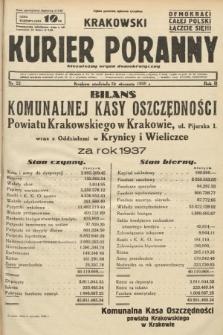Krakowski Kurier Poranny : niezależny organ demokratyczny. 1938, nr22