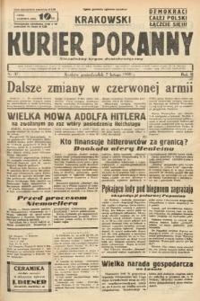 Krakowski Kurier Poranny : niezależny organ demokratyczny. 1938, nr37