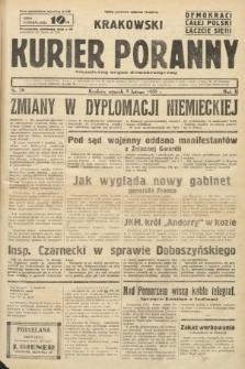 Krakowski Kurier Poranny : niezależny organ demokratyczny. 1938, nr38