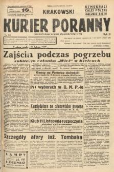 Krakowski Kurier Poranny : niezależny organ demokratyczny. 1938, nr46
