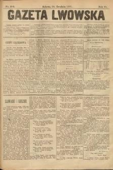 Gazeta Lwowska. 1901, nr288