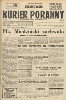Krakowski Kurier Poranny : niezależny organ demokratyczny. 1938, nr47