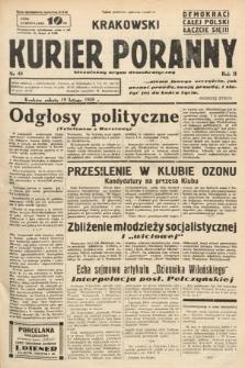 Krakowski Kurier Poranny : niezależny organ demokratyczny. 1938, nr49