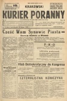 Krakowski Kurier Poranny : niezależny organ demokratyczny. 1938, nr57