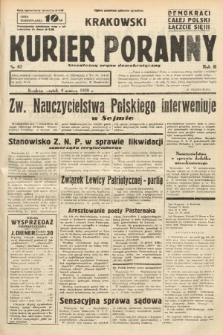 Krakowski Kurier Poranny : niezależny organ demokratyczny. 1938, nr62