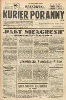 Krakowski Kurier Poranny : niezależny organ demokratyczny. 1938, nr70