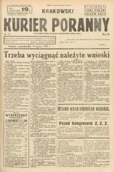 Krakowski Kurier Poranny : niezależny organ demokratyczny. 1938, nr72