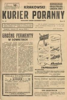 Krakowski Kurier Poranny : niezależny organ demokratyczny. 1938, nr87