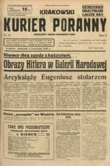 Krakowski Kurier Poranny : niezależny organ demokratyczny. 1938, nr92