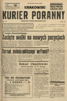 Krakowski Kurier Poranny : niezależny organ demokratyczny. 1938, nr95