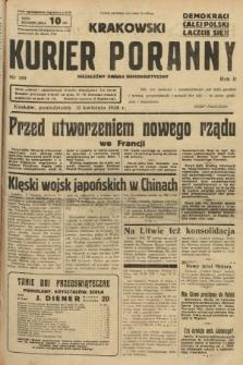 Krakowski Kurier Poranny : niezależny organ demokratyczny. 1938, nr100