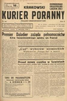 Krakowski Kurier Poranny : niezależny organ demokratyczny. 1938, nr102