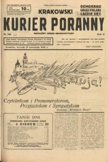 Krakowski Kurier Poranny : niezależny organ demokratyczny. 1938, nr105