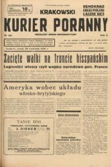 Krakowski Kurier Poranny : niezależny organ demokratyczny. 1938, nr106
