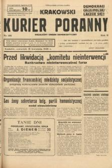 Krakowski Kurier Poranny : niezależny organ demokratyczny. 1938, nr108