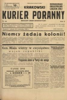 Krakowski Kurier Poranny : niezależny organ demokratyczny. 1938, nr110