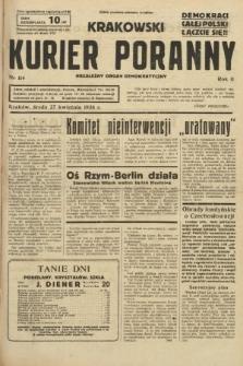 Krakowski Kurier Poranny : niezależny organ demokratyczny. 1938, nr114