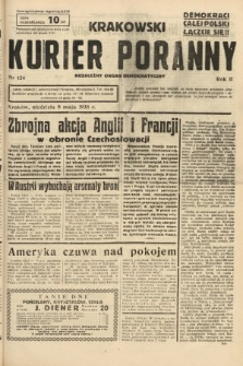 Krakowski Kurier Poranny : niezależny organ demokratyczny. 1938, nr124