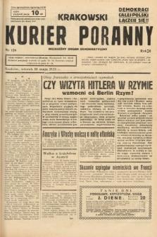 Krakowski Kurier Poranny : niezależny organ demokratyczny. 1938, nr126