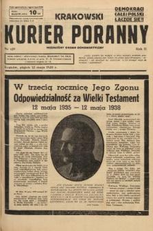 Krakowski Kurier Poranny : niezależny organ demokratyczny. 1938, nr129