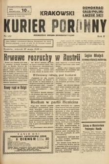 Krakowski Kurier Poranny : niezależny organ demokratyczny. 1938, nr133