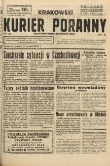 Krakowski Kurier Poranny : niezależny organ demokratyczny. 1938, nr142