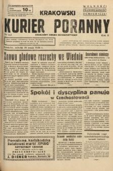 Krakowski Kurier Poranny : niezależny organ demokratyczny. 1938, nr143