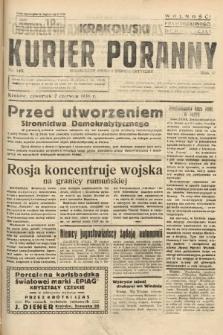 Krakowski Kurier Poranny : niezależny organ demokratyczny. 1938, nr148