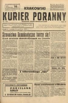 Krakowski Kurier Poranny : niezależny organ demokratyczny. 1938, nr158