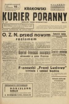 Krakowski Kurier Poranny : niezależny organ demokratyczny. 1938, nr164