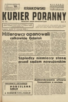 Krakowski Kurier Poranny : niezależny organ demokratyczny. 1938, nr166