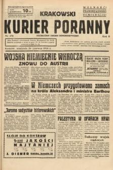 Krakowski Kurier Poranny : niezależny organ demokratyczny. 1938, nr170