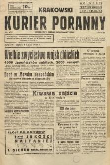 Krakowski Kurier Poranny : niezależny organ demokratyczny. 1938, nr175